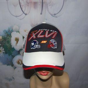 Super Bowl 2012 XLVI Giants vs Patriots Reebok NEW